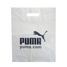 LDPE White Patch Handle Bag