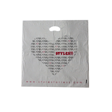 HDPE White Die Cut Shopping Bag